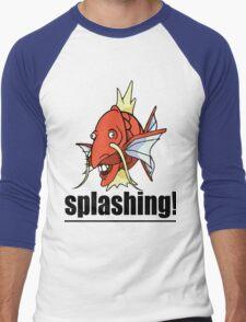 SPLASHING! Men's Baseball ¾ T-Shirt