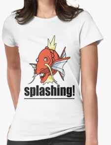 SPLASHING! Womens Fitted T-Shirt