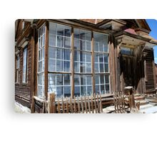 Window in Bodie Canvas Print