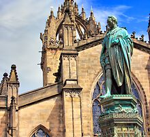 5th Duke of Buccleuch, Edinburgh's Royal Mile by Miles Gray
