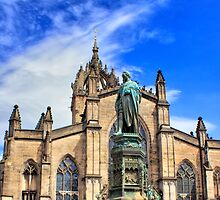 5th Duke of Buccleuch Outside St Giles' Cathedral, Edinburgh by Miles Gray