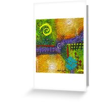Sun Shines in Your Yard and Mine Greeting Card