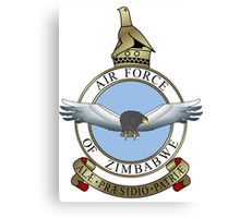 Emblem of the Zimbabwe Air Force  Canvas Print