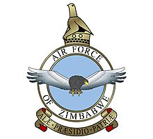 Emblem of the Zimbabwe Air Force  Photographic Print