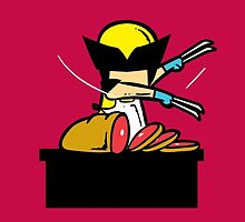 What If Wolverine Had Part-Time Job? by rahulgaba