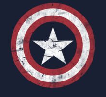 CAPTAIN AMERICA SHIELD  by cbrothers
