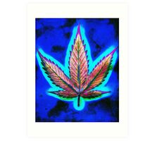 Hemp Lumen #10 Marijuana/Cannabis Art Print