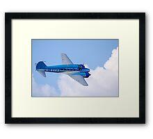 Avro Nineteen Anson Framed Print