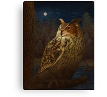 Oreiad, Queen of the Forest Canvas Print