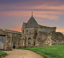 Inchcolm Abbey: Firth of Forth. The Kingdom of Fife by Miles Gray
