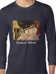 Gustav Klimt - The Kiss Long Sleeve T-Shirt
