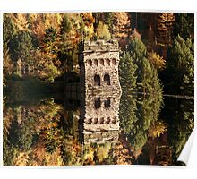 East Tower Reflections Poster
