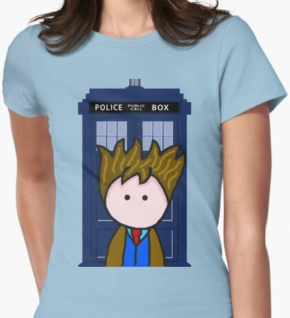 The 10th Doctor Womens Fitted T-Shirt