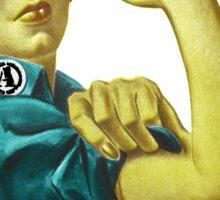 Demolish the Patriarchy! Sticker