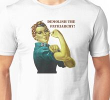 Demolish the Patriarchy! Unisex T-Shirt