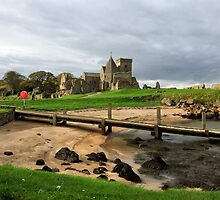 Panorama: Inchcolm Abbey. The Firth of Forth by Miles Gray