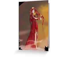 Carrie White  Greeting Card