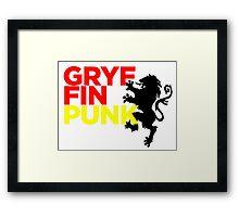 GryffinPUNK - Gryffindor Framed Print