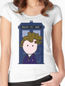 The 8th Doctor Women's Fitted Scoop T-Shirt