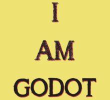I Am Godot Kids Tee