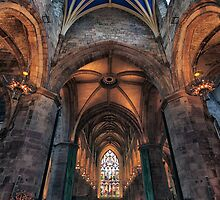 St Giles Cathedral Interior 3 by Miles Gray