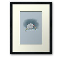I Wandered Lonely as a Cloud Framed Print