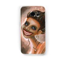 Creepy Tooth Lady Portrait Samsung Galaxy Case/Skin