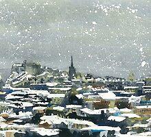 Snowy Edinburgh by Ross Macintyre