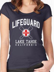 Lifeguard LAKE TAHOE California Women's Fitted Scoop T-Shirt