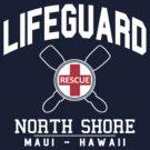 Lifeguard - North Shore - MAUI, Hawaii  by robotface