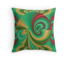Reflecting Sphere Throw Pillow