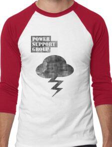 Misfits Power Support Group Shirt  Men's Baseball ¾ T-Shirt