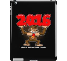 2016, Year of the Pantless Monkey  iPad Case/Skin