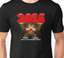 2016, Year of the Pantless Monkey  Unisex T-Shirt