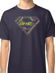 ASP.NET Superman Programmer T-shirt & Hoodie Classic T-Shirt