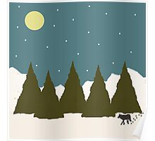 First Snowfall Poster