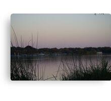 White Rock Lake at Sunset Canvas Print