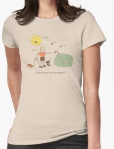 Twig and Berries Womens Fitted T-Shirt