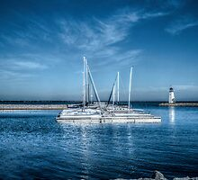 The Perfect Morning Sail by Axiz