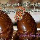 Xmas Chocolate - Card by Bami