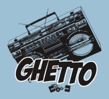 Ghetto Blaster  One Piece - Short Sleeve