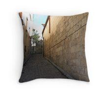 A street in Gaziantep Throw Pillow