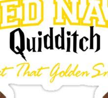 Naked Qudditch - Gryffindor Red Sticker