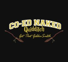 Naked Quidditch - Hufflepuff Black by waltervinci