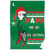Dads Christmas Poster