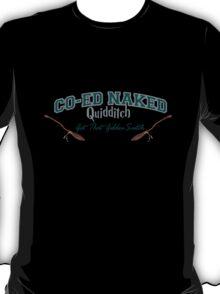 Naked Qudditch - Slytherin Black T-Shirt