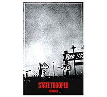 State Trooper Nebraska Photographic Print