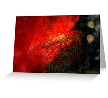 The Fire From Within  Greeting Card