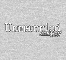 Unmarried and happy Kids Tee