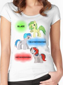 The Elements of Music Women's Fitted Scoop T-Shirt
